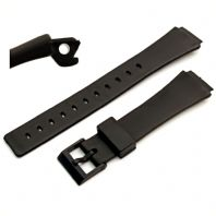 Watch Strap 18mm Resin  to fit Casio Watches Models MRW10, MW32, MW35